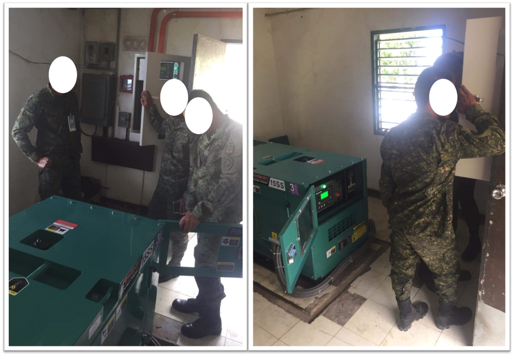 We supplied several generator sets and ATS's to the Armed Forces of the Philippines (AFP).